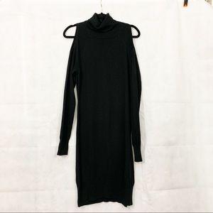 Jennifer Lopez Cold Shoulder Dress